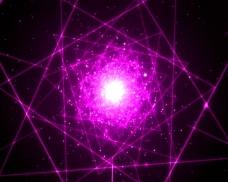 绚丽紫光视频素材