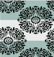 圆形花 古典花纹 民族风格图案图片