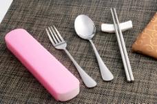 便携餐具 餐具 餐具套装 不锈图片
