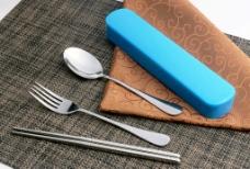 便携餐具 餐具 餐具套装图片