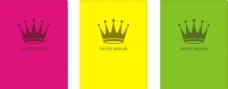 本子皇冠设计图片