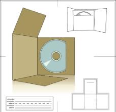 光盘包装盒图片