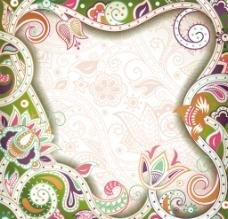时尚花朵花纹图片