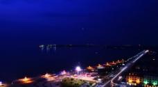 长兴岛夜景图片