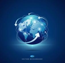全球分布图图片