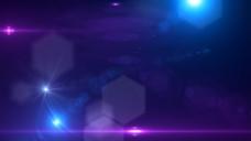 蓝光背景视频素材