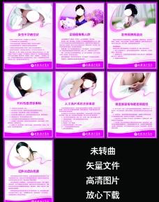 妇科健康知识展板图片