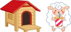 寵物屋子 綿羊圖片