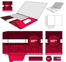 红色纸盒包装