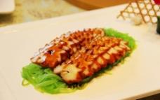 冷菜 香莴笋配烤目鱼图片