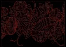 欧式屏风花纹图片