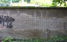 青砖墙图片