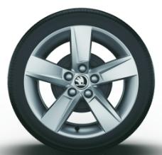 斯柯达汽车细节轮毂图片