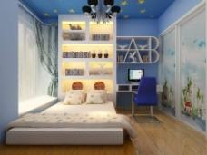 精美的儿童卧室