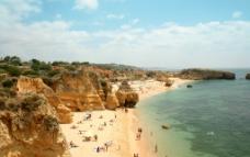 沙滩风景图片