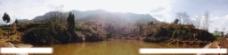 乡下池塘图片