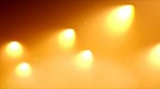 黄色光效视频素材