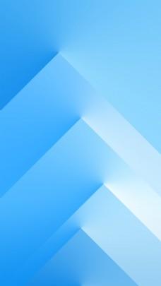 蓝色多边形背景