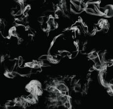 抽出的烟气图片