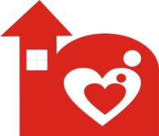 房子logo