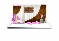 巧克力婚禮佈置場景