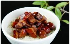 飘香东坡肉饭图片
