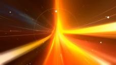 橙色光效动画视频素材