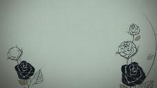 玫瑰动画背景视频素材