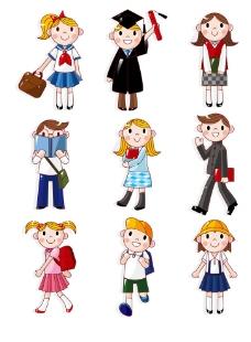 六一儿童  儿童卡通图片