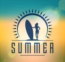夏日背景图片