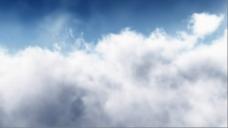 白云动态视频素材