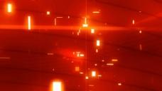 红光背景视频素材