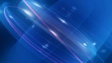 蓝色光芒视频素材