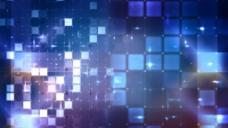 蓝色格子光视频素材