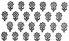 花卉背景设计图片