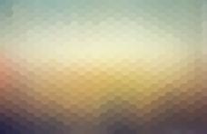 蜂窝形状几何背景图