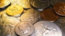硬币视频素材