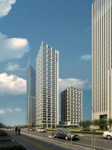 商业楼景观设计图片
