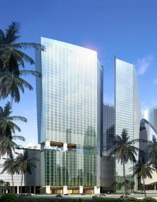 商业大厦建筑景观图片
