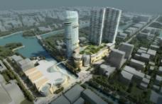 商业中心建筑景观图片