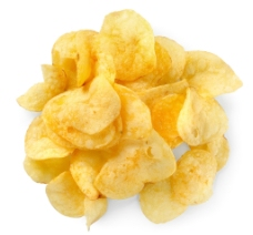 美味薯片图片