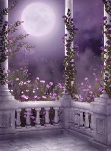 梦幻仙境可作为婚纱背景