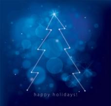 圣诞星光图片