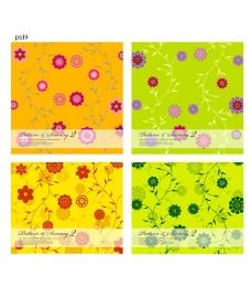 花朵矢量图 背景图片