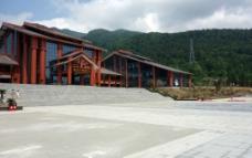 武陵山游客中心图片