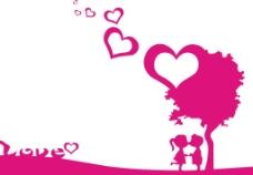 情侣卡通小孩图片