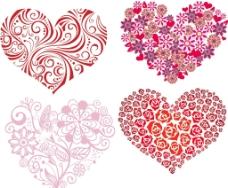 心形 玫瑰花 花朵图片