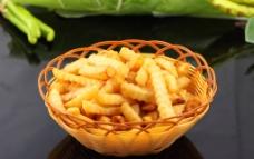 美式脆炸薯条图片