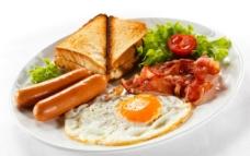 西式营养早餐图片