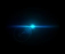蓝色光效高清图片素材